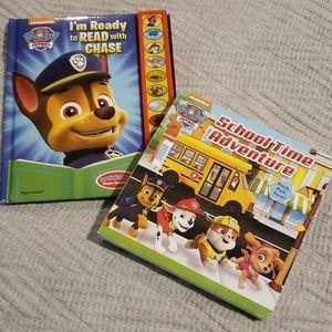 Lot of 2 - Paw Patrol Interactive Book Bundle